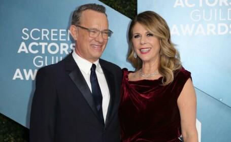 Soția lui Tom Hanks, după ce s-a vindecat de Covid-19 cu clorochină: Eram complet amețită