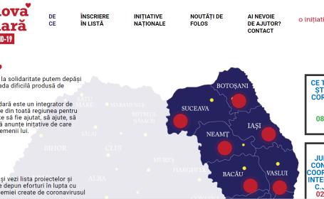 Moldova Solidară: proiect online cu informații complete pentru limitarea efectelor pandemiei