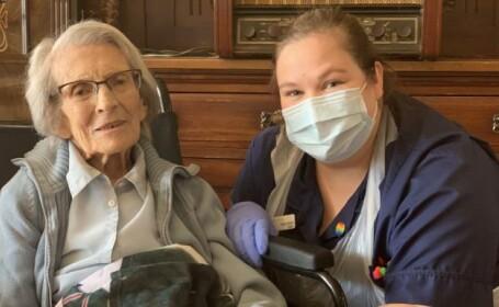 O britanică în vârstă de 106 ani s-a vindecat de Covid-19
