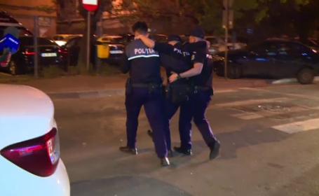 politist ranit la scandalul din rahova
