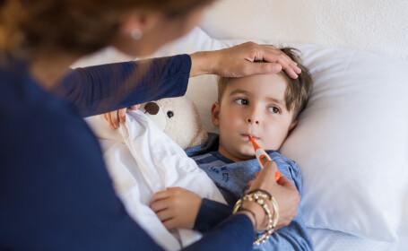 Cum reacționăm dacă copilul nostru face febră?