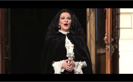 """Angela Gheorghiu cântă """"Tatăl nostru"""", într-un videoclip produs de Pro TV"""