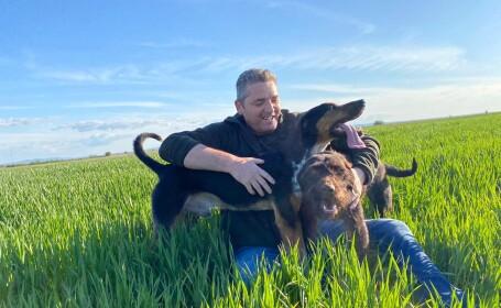 Șeful Poliției Locale Lugoj a ieșit cu câinii pe un câmp, dar nu a fost sancționat