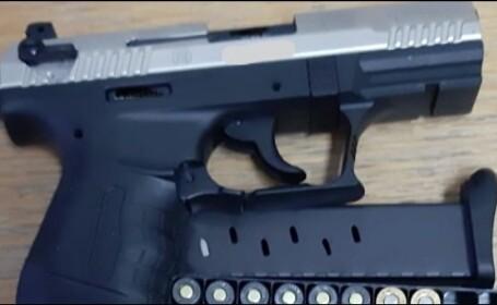 Tânăr bucureștean, arestat după ce a vrut să vândă un pistol pe Internet