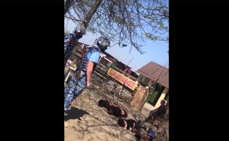 interventie a politiei in Bolintin