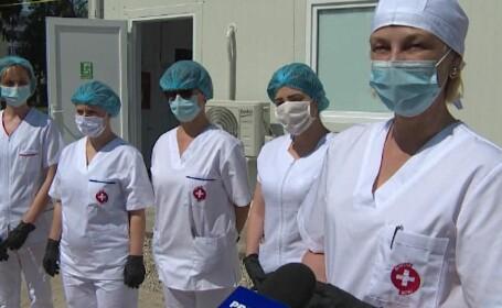 Laborator pentru testarea COVID-19, construit în doar două săptămâni din donații la Târgu Jiu