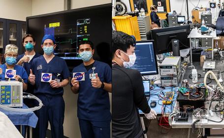 """NASA realizează dispozitive medicale în lupta contra Covid-19: """"De obicei, construim nave spațiale, însă vrem să ajutăm"""""""