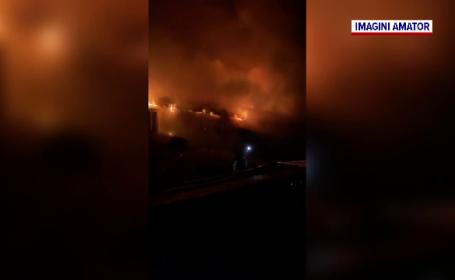 Un copil de 11 ani, bănuit că a dat foc unei locuințe. Valoarea bunurilor distruse este uriașă