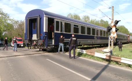 Un bărbat s-a aruncat în fața trenului, la Timișoara. Ce a făcut înainte