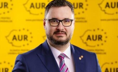 """""""Sancţiune maximă"""" pentru deputatul AUR care l-a jignit pe ministrul Justiției"""