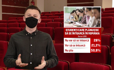Proiect de lege: Tinerii români care vor să învețe în străinătate vor primi ajutor de la stat. Care sunt condițiile