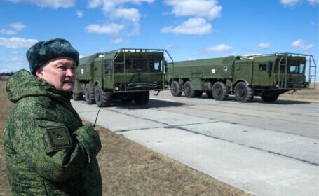 Analiști: Rusia a transferat rachete balistice Iskander lângă cu Ucraina. SUA ar putea trimite nave în Marea Neagră