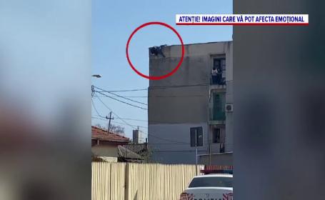O femeie din Constanța s-a aruncat de pe bloc, în fața a zeci de oameni. Iubita ei ar fi înșelat-o cu un bărbat