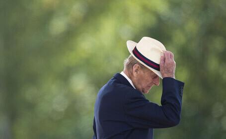 Înmormântarea Prințului Philip. Cei patru copii şi prinţii William şi Harry vor merge alături de sicriu
