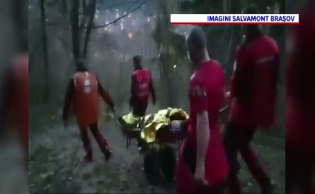 Salvamontiștii din Brașov, chemați să salveze un bărbat beat. Cum s-a terminat