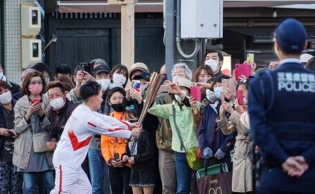 Ştafeta torţei olimpice, anulată în localitatea japoneză Matsuyama, din cauza Covid-19