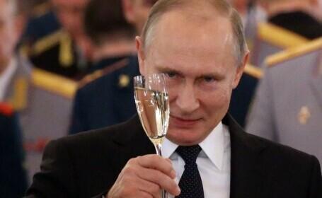 """Vladimir Putin a făcut şi rapelul: """"Urmați-mi exemplul!"""""""