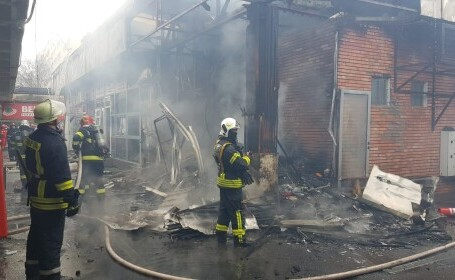 incendiu, Bucuresti