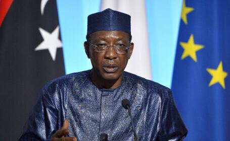 Preşedintele Ciadului a decedat după ce a fost rănit în lupte împotriva rebelilor