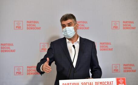 """Marcel Ciolacu: politicienii din coaliție fac """"4 ore pe zi de terapie pe ciolan\"""