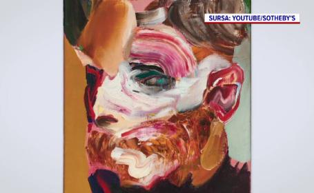 Două lucrări ale pictorului român Adrian Ghenie, vândute cu peste șase milioane de euro