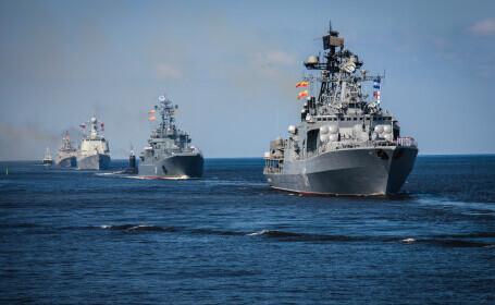 """Rusia acuză SUA şi NATO de """"activitate provocatoare"""" în spațiul aerian și apele Mării Negre"""