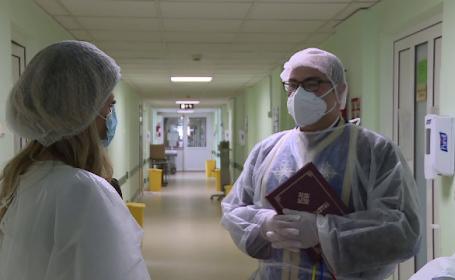 Regulile pe care trebuie să le respecte preoții atunci când vizitează pacienții din spitale