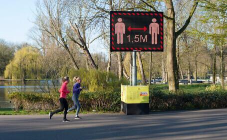 Olanda a decis ridicarea restricțiilor de circulație și redeschiderea teraselor din 28 aprilie