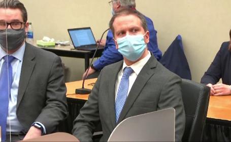 VIDEO. Reacția fostului polițist Derek Chauvin în momentul în care judecătorul a citit verdictul