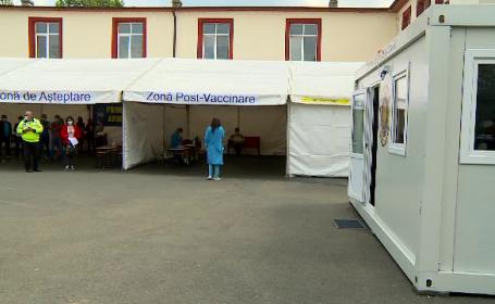 Șapte județe din România vor beneficia de centre mobile de vaccinare anti-Covid-19