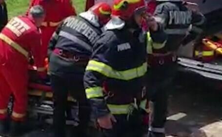 Un bărbat s-a prăbușit cu parapanta la Tohani, sub ochii fiicei sale. O rafală de vânt era să-l coste viața