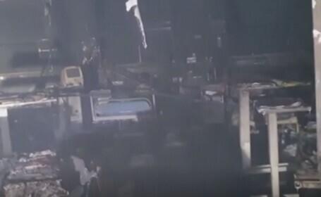 Incendiu devastator într-un spital COVID din India. 13 pacienți au murit