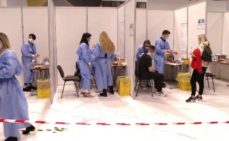 Centrele de vaccinare ale spitalelor militare, deschise non-stop, timp de o săptămână, începând de marți