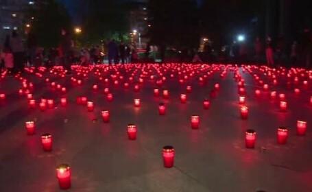"""Eveniment unic în România. Peste 3.000 de candele au fost aprinse pe """"Calea Luminii"""""""