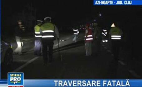Cluj: două tinere, spulberate pe marginea drumului, de un şofer beat