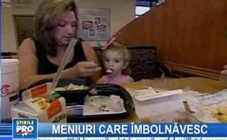 Restaurantele tip fast-food, câmpuri minate pentru copii