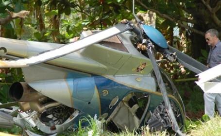 California: 9 persoane date dispărute într-un accident de elicopter
