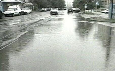 Inundatie in Bucuresti