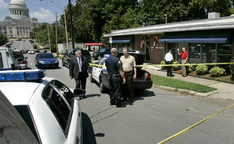 Arkansas: preşedintele Partidului Democrat, împuşcat chiar în biroul său
