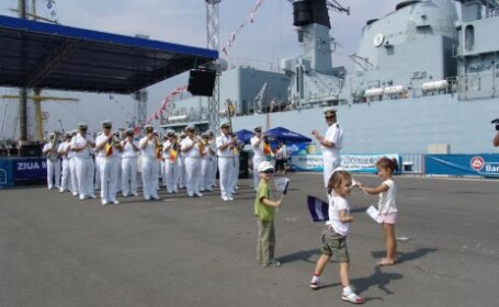 La Constanţa pregătirile sunt în toi pentru Ziua Marinei