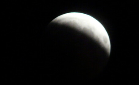 Eclipsa parţială de Lună