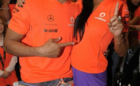 Nicole Scherzinger şi Lewis Hamilton