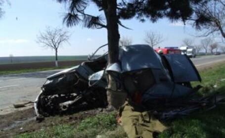 Accident mortal pe drumul national care leaga Braila de Focsani