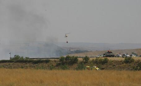 Accident aviatic la Madrid
