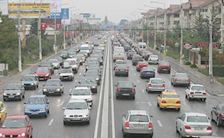 Aglomeratia de pe drumurile catre Bucuresti se muta miercuri in Capitala