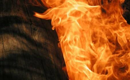 Incendiu devastator la o groapa de gunoi de langa Timisoara