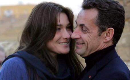 Carla si Nicolas Sarkozy