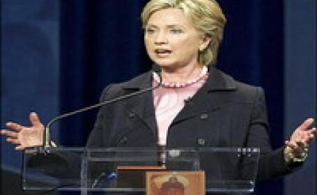 Hillary Clinton si-a tinut discursul in cadrul Conventiei Democratilor