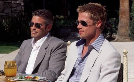 George Clooney si Brad Pitt