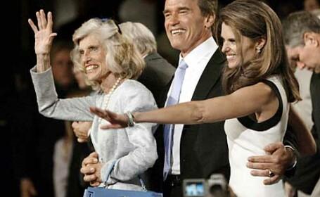 Eunice, Maria si Arnold Schwarzenegger